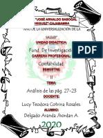 ANALISIS DE LAS PAG. 27-33