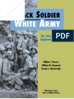 Black Soldier White Army the 24th Infantry Regiment in Korea