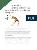 Los seis principios fundamentales en los que se basa la filosofía de la danza y el deporte.docx