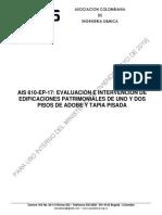 Documento AIS 610-EP-17