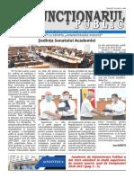 "ZIarul ""Funcționarul public"" nr. 13-14 (578-579) iulie 2020"