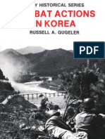 Combat Actions in Korea