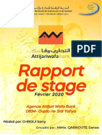 Rapport de stage ATTIJARIWAFABANK- CHRIGUI SAMY n2291