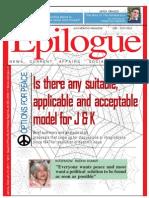Epilogue Magazine, February 2011