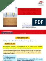 TEMA Nº 06 TEMPERATURA Y DILATACIÓN