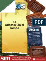 12 Adaptación Al Campo