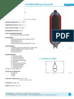 3.1 Bladder accumulators type AS and ASP