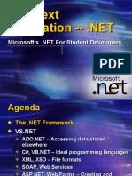 DotNet Overview + Framework