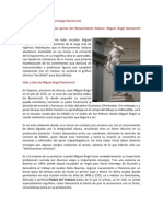 Biografía y obra de Miguel Ángel Buonarroti