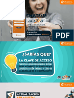 INSTRUCTIVO Nueva Versión Alissta APP