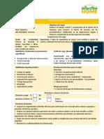 Descripción de cargo Analista de cartera