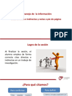 El manejo de la información. Citas directas e indirectas 2017.pptx