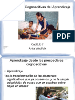captulo7perpectivascognoscitivasdelaprendizaje-100720230943-phpapp02.ppt