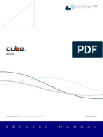 SpaceLabs qube 91390 Service Manual