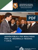 GESTIÓN PÚBLICA POR RESULTADOS PARA EL DESARROLLO REGIONAL Y LOCAL