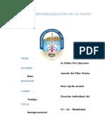Derecho Individual del Trabajo - Tarea N° 03