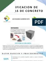 DIAPOSITIVAS DE DOSIFICACION DE MEZCLAS DE CONCRETO 2020 - 2.pptx