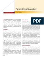 chapter 14. Patient Clinical Evaluation