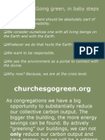 Going green, in baby steps - First German United Methodist Church