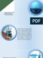 Agua potable DIAPOSITIVAS GRUPO 3