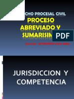 CLASES DE JURISDICCION Y COMPETENCIA 2020