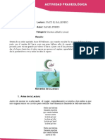 FORMATO ACTIVIDAD PRAXEOLOGICA