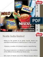 nestle bcg matrix