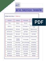 Dizionario Tecnico Tessile