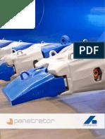 Серия Penetrator specification