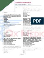 EVALUACIÓN DIAGNÓSTICA - PEDIATRÍA-NEONATOLOGÍA