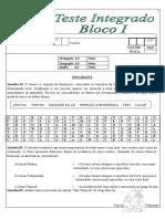 BLOCO I - 5º ANO - 2º Bim Geo Ing