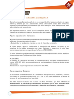 POLITICAS DE CALIDAD CYAT OA3