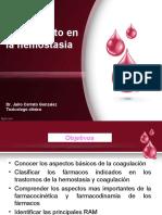 FARMACOLOGIA DE LA HEMOSTASIA Y LA COAGULACION (4)