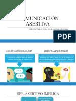 COMUNICACIÓN ASERTIVA EXPO