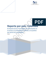 Reporte Colombia 13-07CEJA