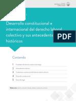 DERECHO LABORAL COLECTIVO Y TALENTO HUMANO