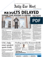 The Daily Tar Heel for February 9, 2011