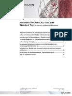 Autodesk ÖNORM CAD- und BIM- Standard Tool für AutoCAD und AutoCAD Architecture
