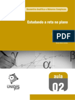 Geometria Analitica e Numeros Complexos Aula-02