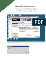 Websphere MQ 7 Installation
