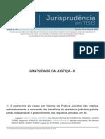 Jurisprudencia Em Teses 149 - Gratuidade Da Justica - II