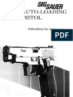 Sig Sauer Autoloading Pistol Armourers Manual - Revised