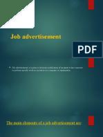 Job advertisement.pptx