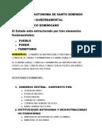 SECTOR PUBLICO DOMINICANO