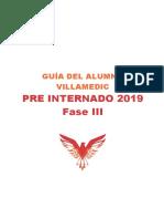 Guía del Alumno - Pre Internado 2019 - Fase 3