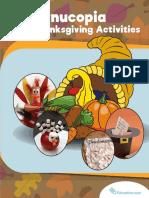 Concurpia Thanksgiving Activities