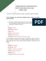 Taller N 1 Comunicación escrita (resuelto 21-09-2020)