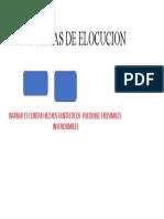 FORMAS DE ELOCUCION