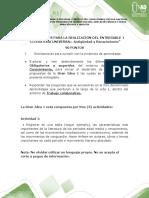 Entregable 1 Español y Literatura