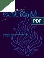 Leloup, Jean-Yves - De Nietzsche à Maître Eckart-Almora (2014)